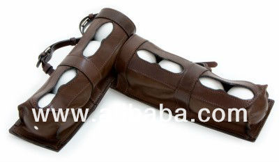 Polo Umpire Leather Ball Carrier