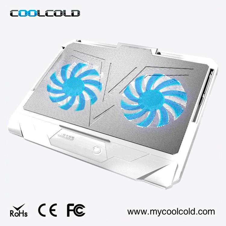 Fashion Design Multifunction Cooling Pad Laptop With Fan, Notebook Cooling Pad Cooler Fan