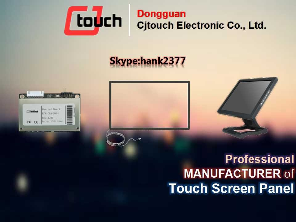 46inch low price ir touch screen frame multi ir touch screen frame