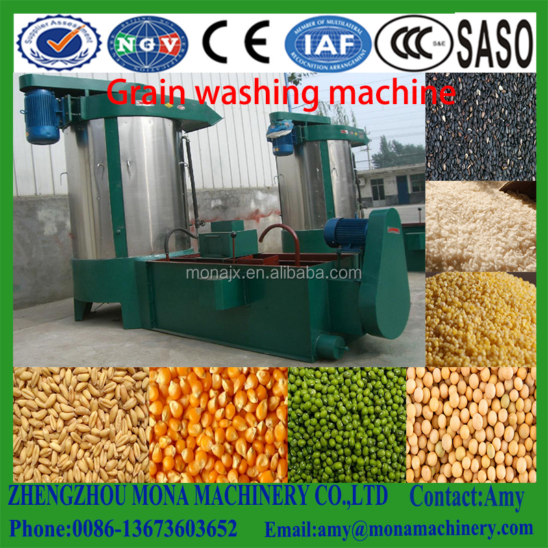 Wheat/<strong>corn</strong> /sesame/soybean gain cleaning/washing and drying mahine for sale