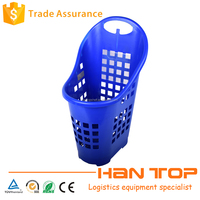 plastic carry rolling basket for sale HAN-TB08 531