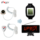wireless hospital caregiver pager emergency calling alarm system