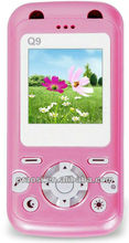 child GSM card cell phone with GPS function
