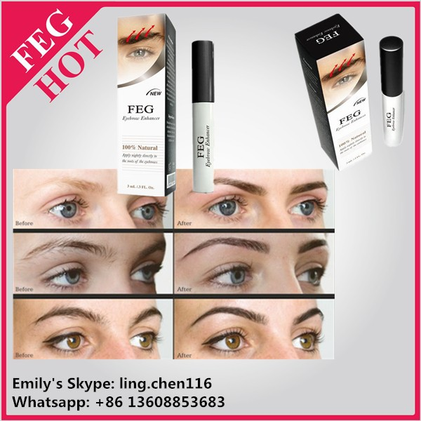FEG eyebrow enhancer lotion/eyebrow growth solution/3ml
