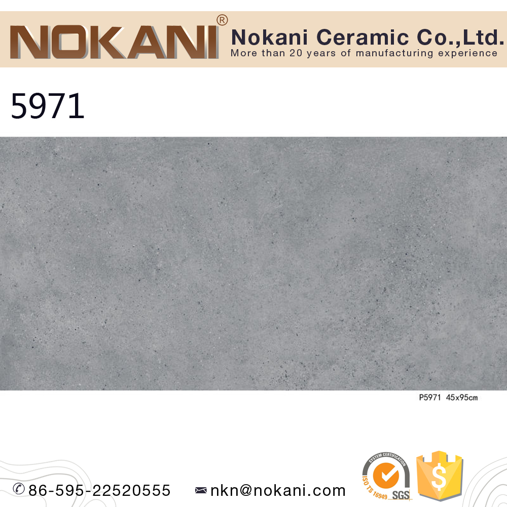 Fujian factory Cement look design floor tiles ceramic for project