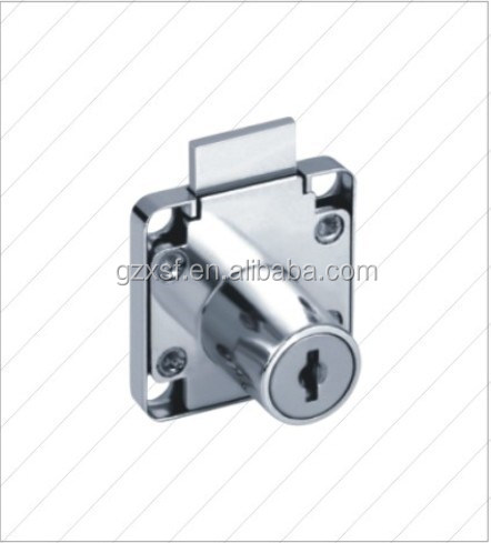 Mini Nickel remote cabinet lock Caravan electrical cabinet lock Motorhome Boat Push Knob Drawer Kitchen Cabinet Lock