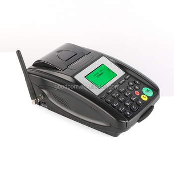 Small Cheap Thermal GPRS Bus Ticketing Machine with Receipt Printer