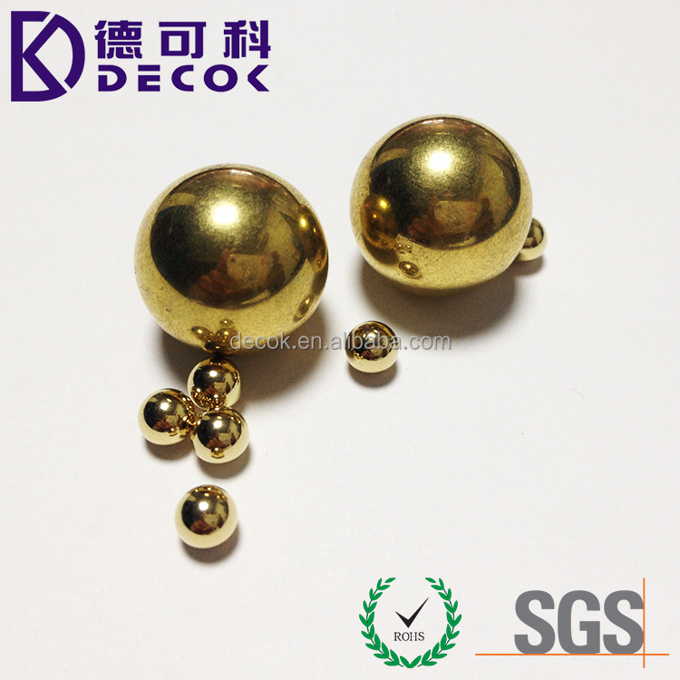 18mm brass polished ball baoding ball