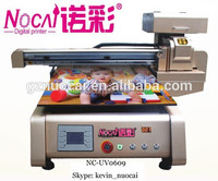 Guangzhou Nuocai a1 size digital uv led flatbed ceramic printer with Jet printing technology