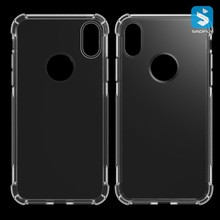 Anti Shock Clear Soft Plastic TPU Case for iPhone x
