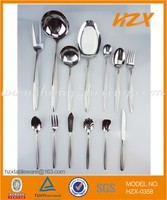 Stainless Steel Cutlery with satin on handle