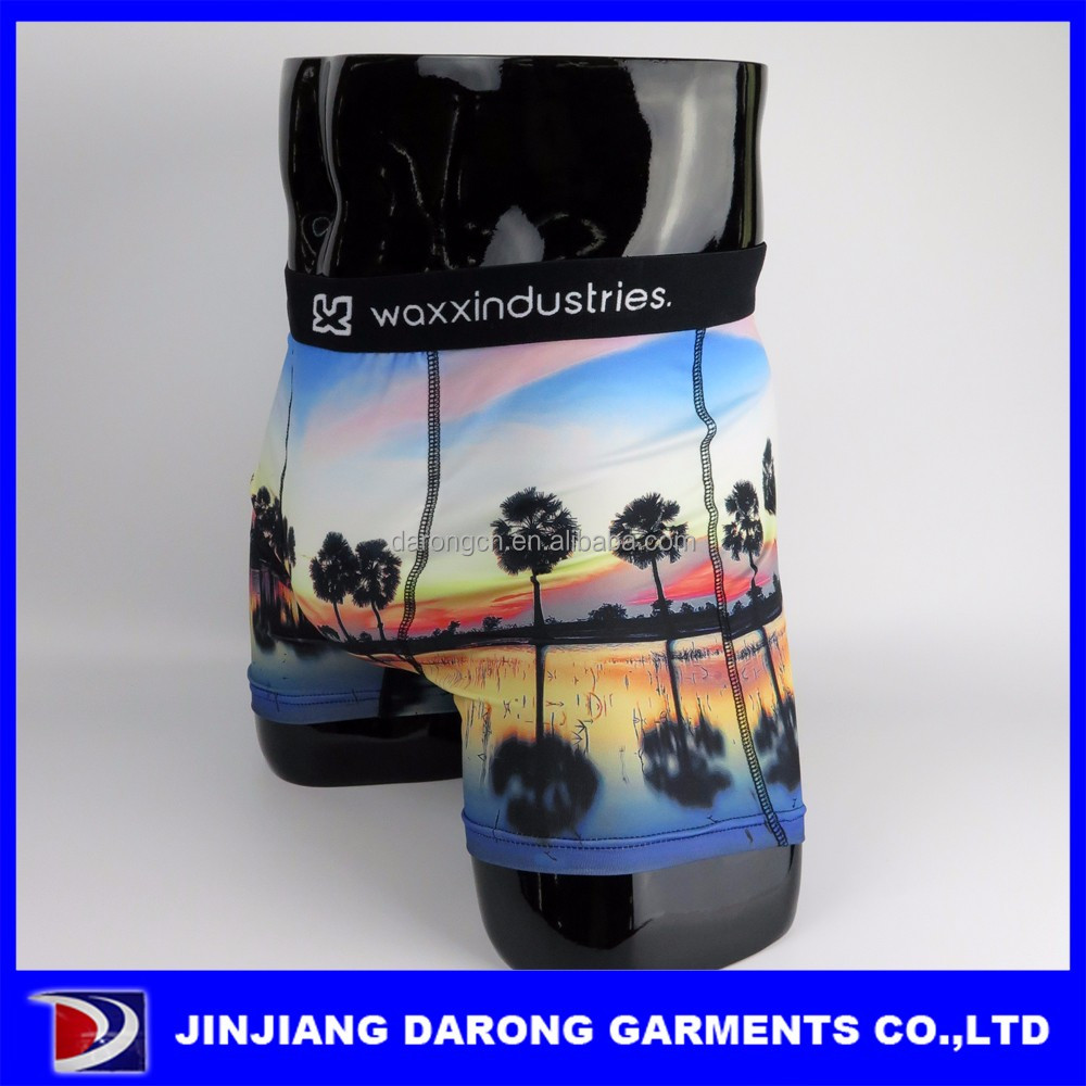 Wholesale sublimation design your own mens underwear