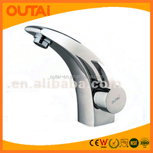 2012 Led wash basin mixer with round handle