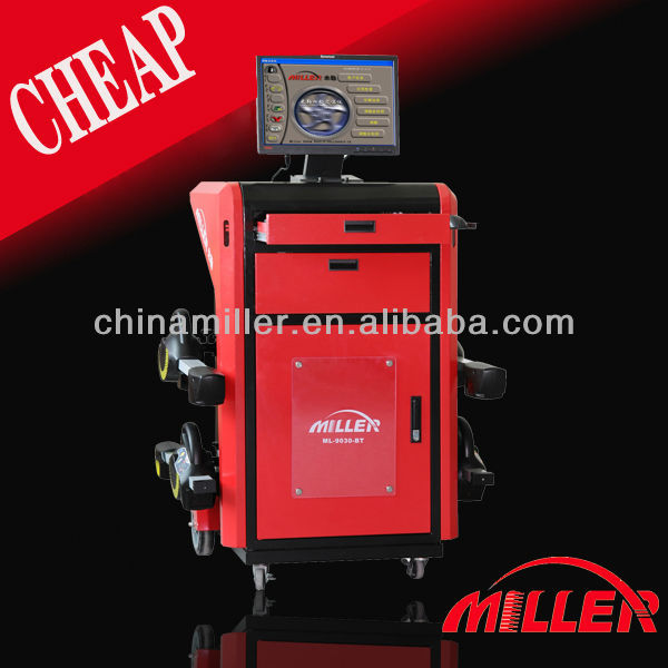 MILLER 8 toe sensors launch wheel alignment/CCD Wheel Aligner ML-9030-BT