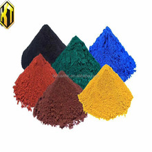 Iron oxide powder color pigment for concrete and cement paint