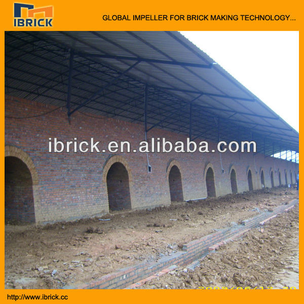Saving power and coal fuel hoffman kiln for solid bricks