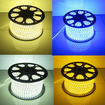 240 Led/m 110V/220V 5050 Chips Flexible 5730 led strip multicolor RGBW 2835 led light strip