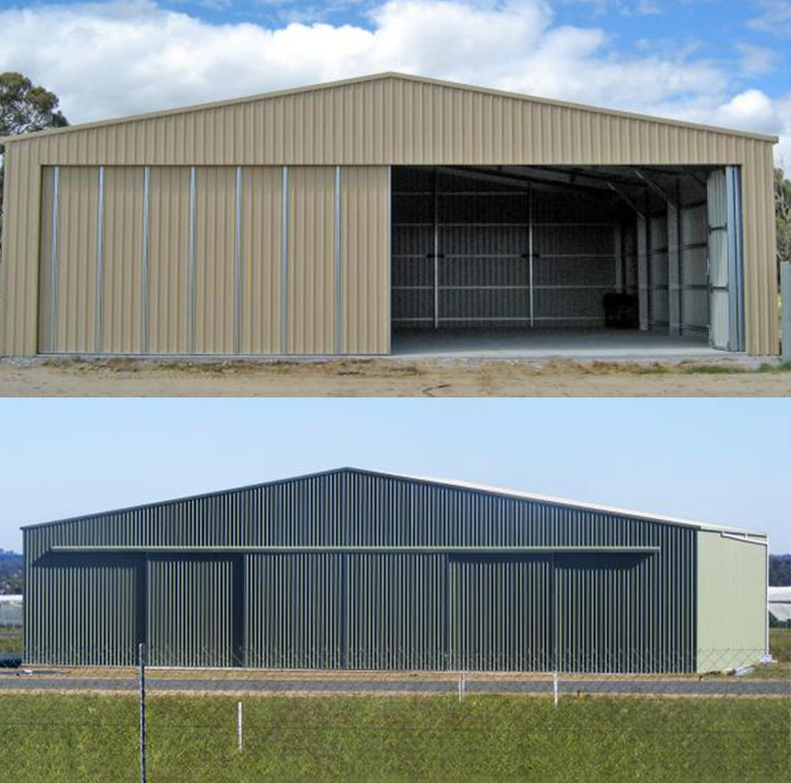 Cheap Light Frame Prefabricated Modular Portable Aircraft Hangar