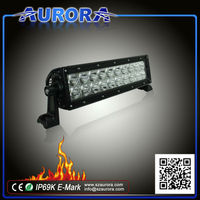 original manufacturer AURORA 10inch waterproof LED light bar / atv quad accessories