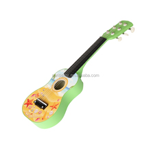 importer of toys wholesale made in china shapes learning toy foreign musical instrument guitar 6-string wooden diy guitar kit