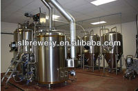 one piece sacharrifying system two vessel three vessel beer brew house 1000l copper brewery equipment