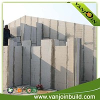 no split removable house wall panel