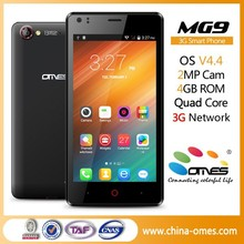 "alibaba ru OMES Mobile MG9 4.5 inch 4.5"" 3G WCDMA 850/1900/2100 Mhz Android china customized cell phone"