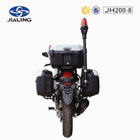 JH200-8 Gas/Diesel Fuel and Use Condition used and damaged motorcycle