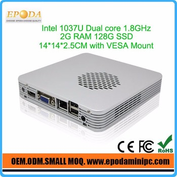 Desktop computer for sales Intel NM70 Express High Speed Chipset 1037UL Dual Lan Support wifi
