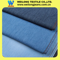 B30781-4G-A stock price 100% cotton denim fabric light weight 5.5oz with slub effect for summer