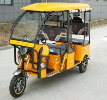 Hot selling electric rickshaw 6 person pessager