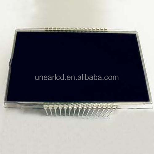 Customized TN negative reflective 5-digit lcd display UNLCD20683