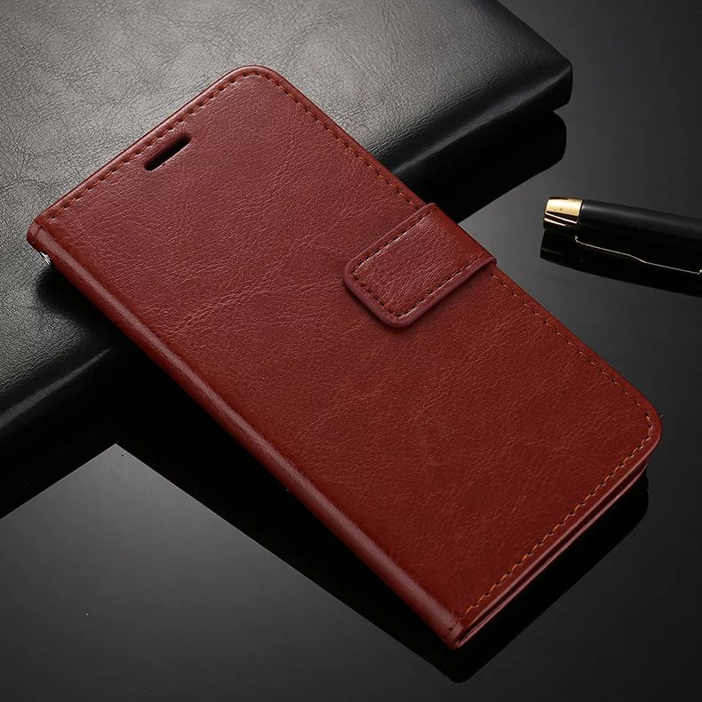 Professional leather manufacturer Crazy Horse pattern phone holster for asus Zenfone3 Laser