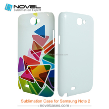 For Galaxy Note2 N7100 Blank Sublimation Case,3D DIY Cell Phone Shell