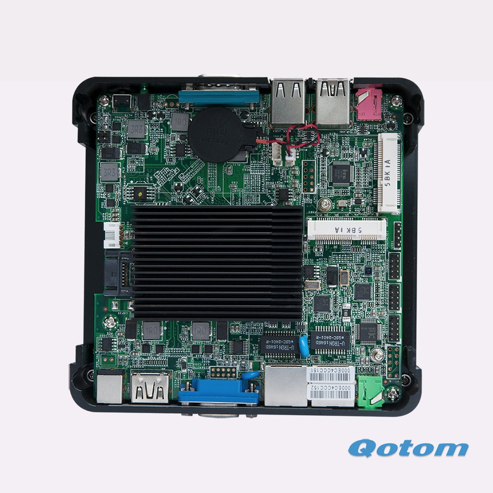 Good quality Q190S mini pc Linux fanless 2.42G Mini desktop server PC
