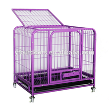 Hot sale & high quality pet cage dog with wheel