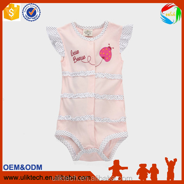 IN Stock baby rompers free sample cute rompers wholesale children's boutique clothing