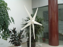 100w china mini horizontal axis wind turbine generator