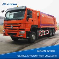 Heavy 20 Cbm Dustbin volume Garbage Collection Vehicle