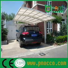 Aluminum Structure Polycarbonate Sail DIY carports/car shelter/canopy Chinese factory supply
