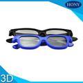 3D circular polarized glasses adult and children sets for 3D cinema