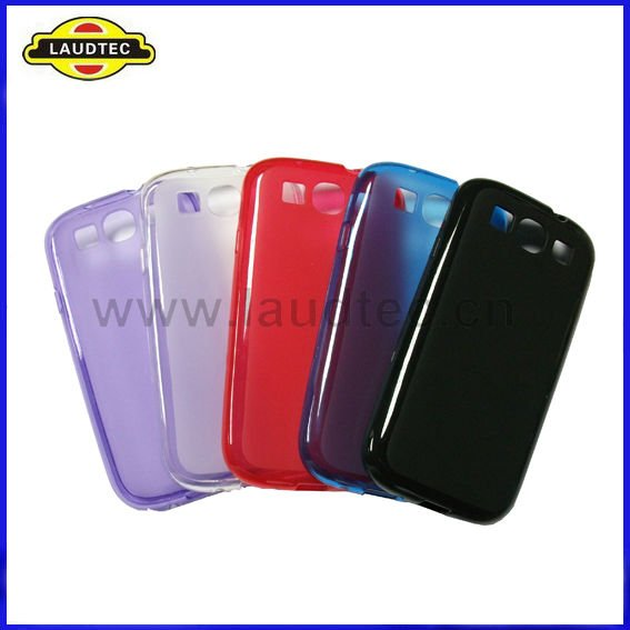 Matte TPU Gel Case Back Cover for Samsung Galaxy S3 I9300,Shiny TPU Bumper,New Design,Laudtec