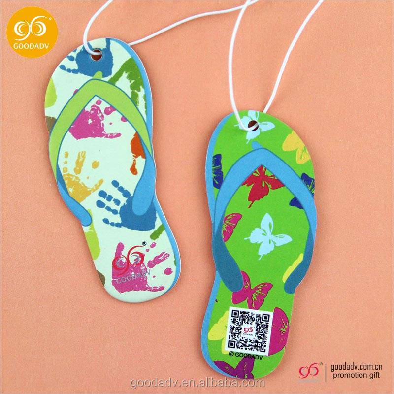 Cheap wholesale hang car fragrance customized paper air freshener