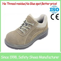 SF1232 Hot sale breathable sport style leather safety shoe