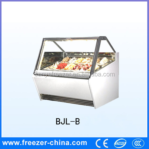 Customize ice cream shop equipment in china