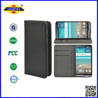 For LG G3 Mini Premium PU Leather Magnet Wallet Case with Slot Flip Cover Cellphone Accessories Laudtec