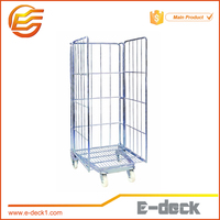 Heavy duty roll container