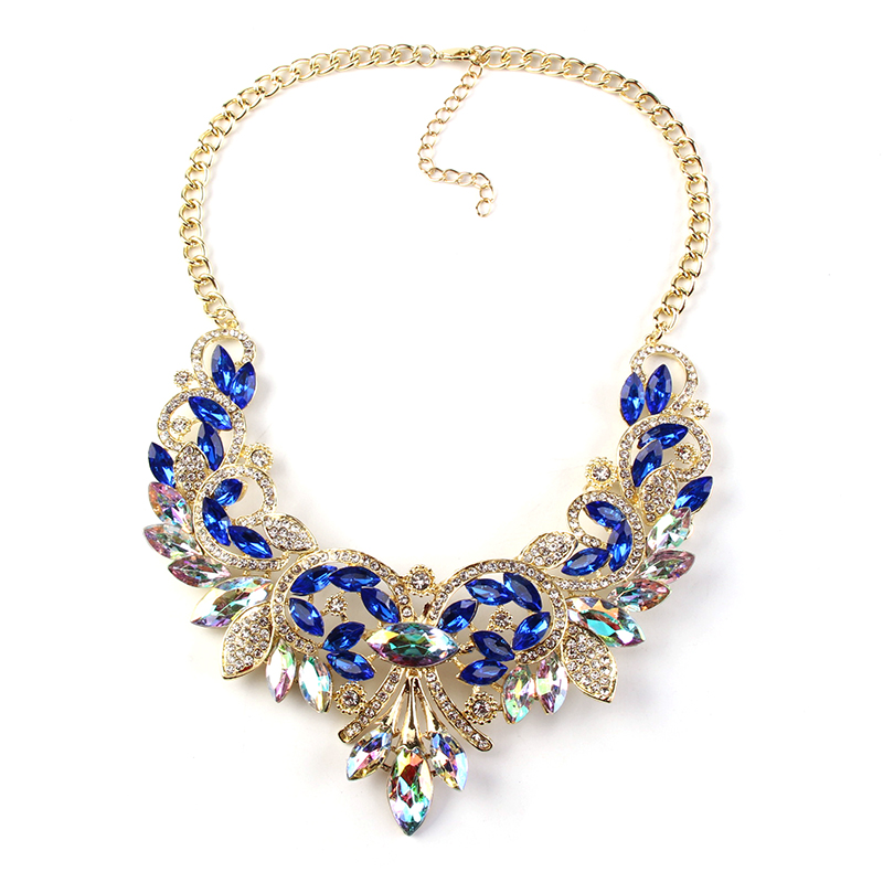 2016 big statement and charming chunky necklace 31102