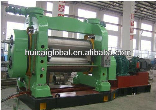 fabric and steel core kalendering machine with CE ISO9000,huicai brand