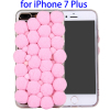 3D Furry Balls Pattern Protective TPU Phone Case for iPhone 7 Plus